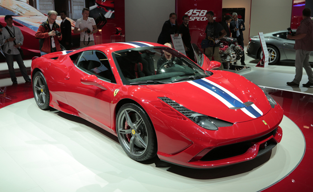 Ferrari 458 Speciale Sold Out for 2013