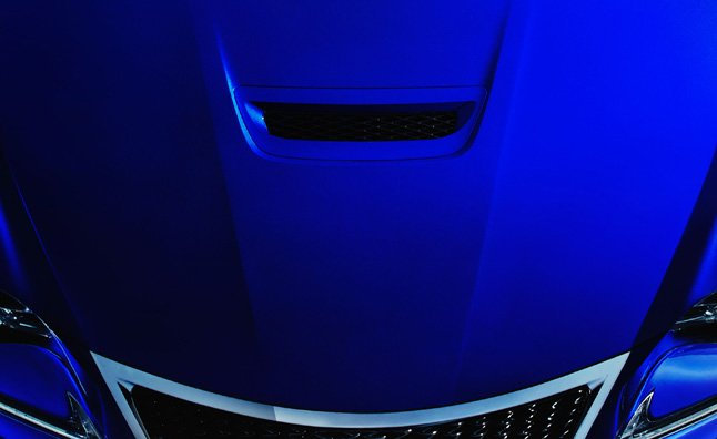 Lexus RC-F Teased Again Before Detroit Debut
