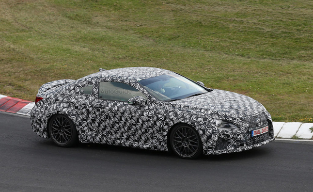 Lexus RC F to Sport 460-HP V8 Engine