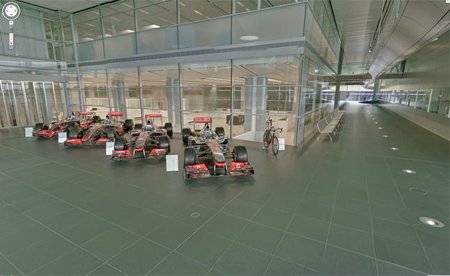 McLaren Technology Centre Added to Google Street View