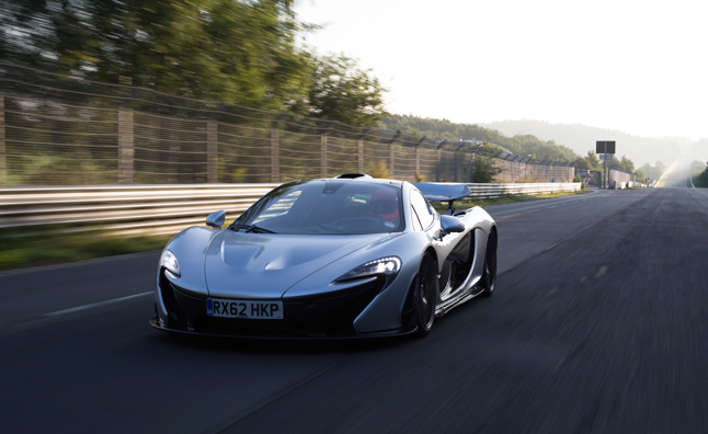 McLaren P1 Claims Sub-Seven Minute 'Ring' Lap – Video