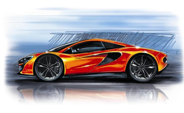 McLaren P13 to Feature 3.8L V8 with 444 HP