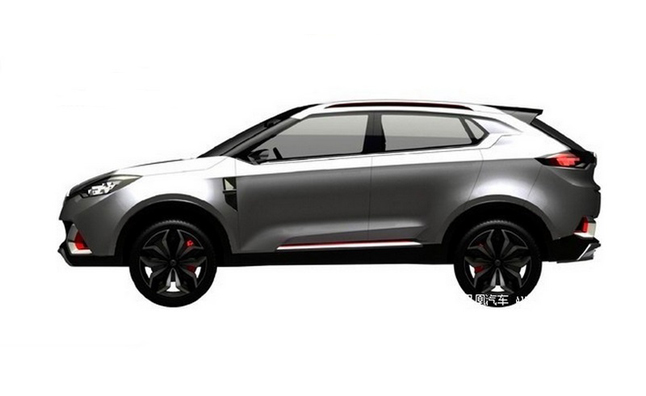 MG's First Crossover Heading to Beijing Motor Show