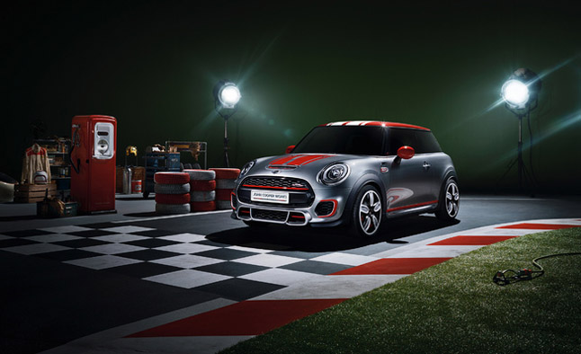 MINI JCW Concept Previewed Before Detroit Debut