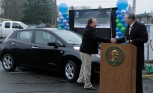 Nissan Leaf Owner Drives Past 100,000 Mile Mark