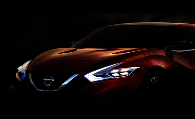 Nissan Sport Sedan Concept Teased Before Detroit Debut
