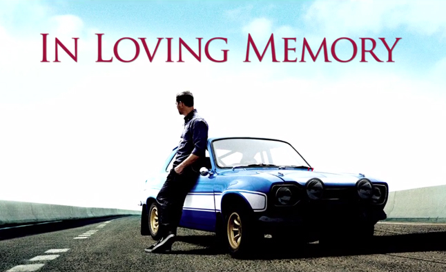 Paul Walker Tribute Video Released