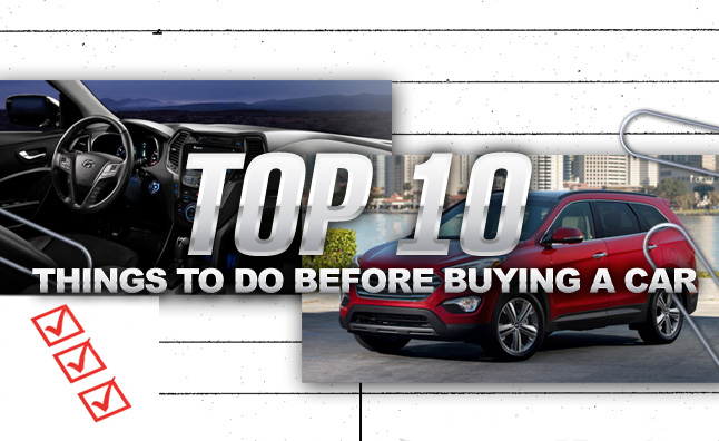 Top 10 Things To Know Before Buying a Car