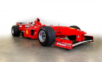 Michael Schumachers Ferrari F1 Car Nets $1.7M at Barrett-Jackson