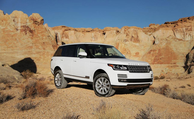 Land Rover Range Rover Recalled for Airbag Issue