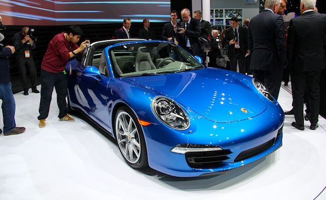 2014 Porsche 911 Targa Revealed in Detroit