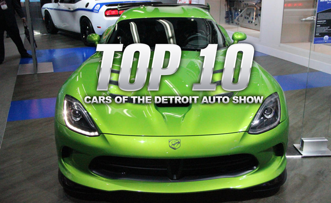 Top 10 Cars of the 2014 Detroit Auto Show