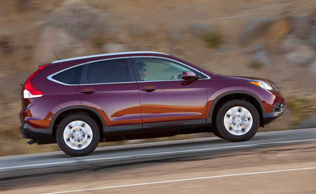 2014 Honda CR-V Earns NHTSA Five-Star Safety Rating