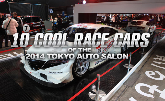 10 Awesome Race Cars from the Tokyo Auto Salon