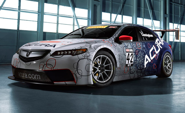 Acura TLX GT to Race Against Porsches, Ferraris