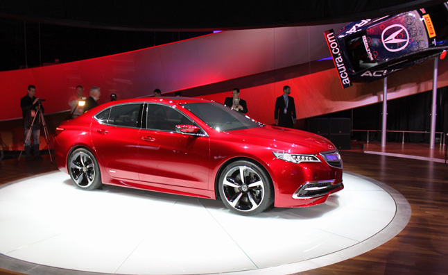 2015 Acura TLX Revealed With 8 or 9-Speeds