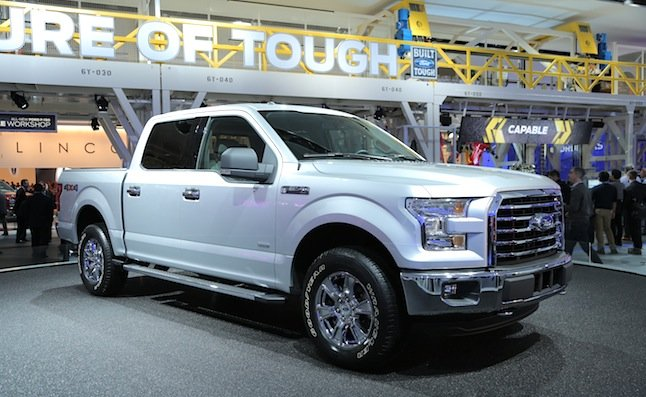 2015 Ford F-150 Sheds 700 Lbs., Gains New 2.7L Engine