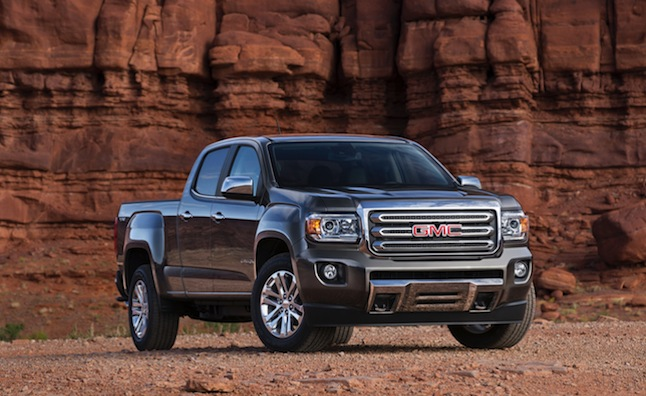 2015 GMC Canyon Completes GM's Revamped Truck Lineup