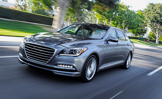 Hyundai Plots 'Performance-Focused' V8 AWD Genesis
