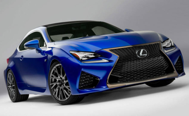 2015 Lexus RC F Leaked Before Official Debut