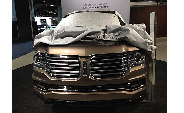 2015 Lincoln Navigator Front End Leaked