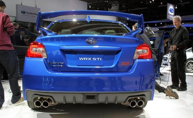 2015 Subaru WRX STI Video, First Look
