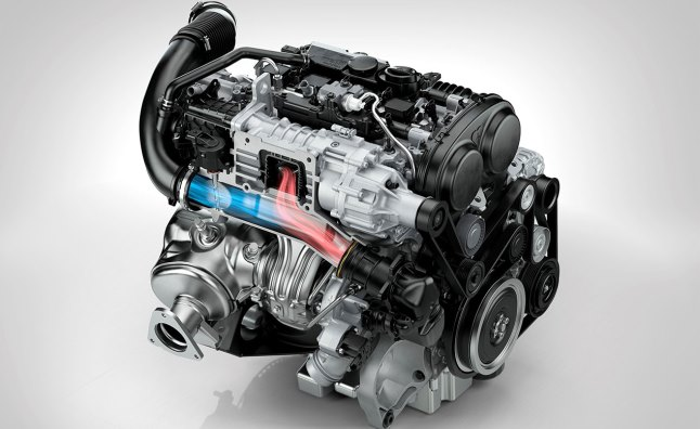 volvo e-drive twincharged engine