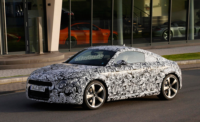 2015 Audi TT to Debut at Geneva Motor Show