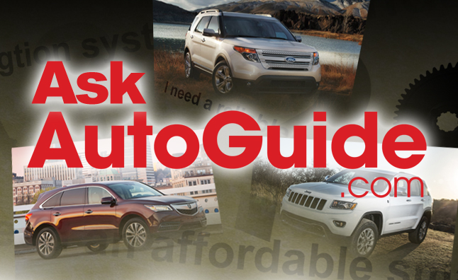 Ask AutoGuide No. 30 – 2014 Acura MDX vs. 2014 Jeep Grand Cherokee vs. 2014 Ford Explorer