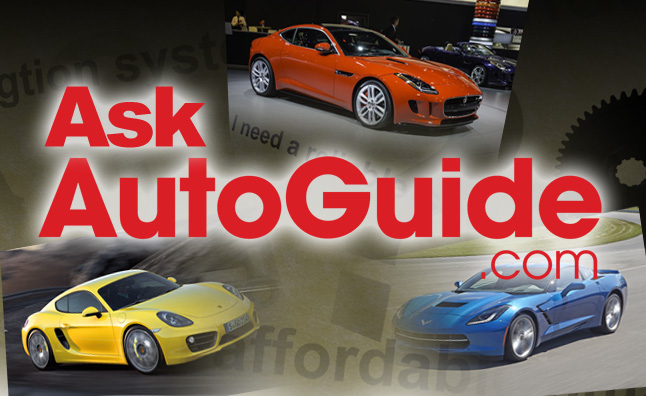 Ask AutoGuide No. 32 – Chevrolet Corvette Stingray vs. Jaguar F-Type Coupe vs. Porsche Cayman S