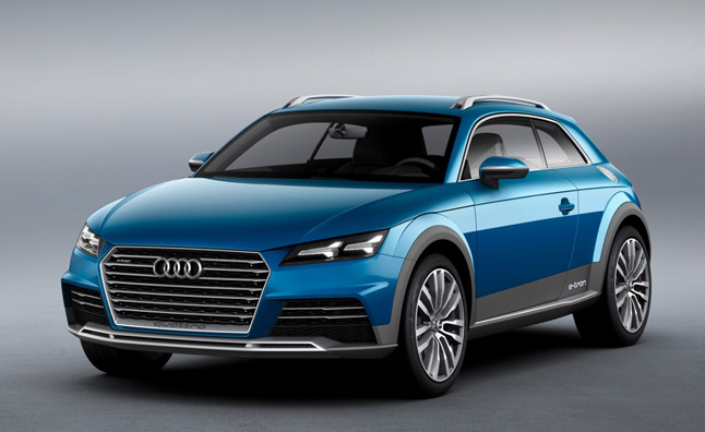 Audi Allroad Shooting Brake Concept Photos Leaked