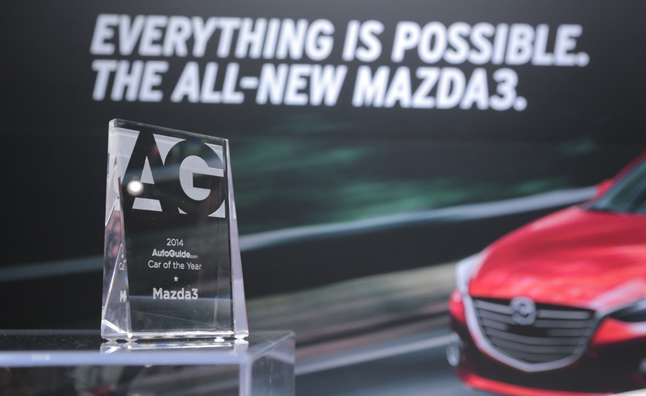 autoguide 2014 car of the year mazda3