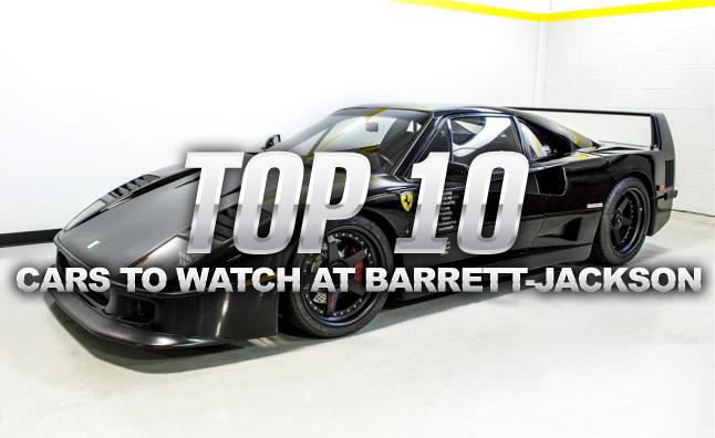Top 10 Cars to Watch at the 2014 Barrett-Jackson Scottsdale Auction
