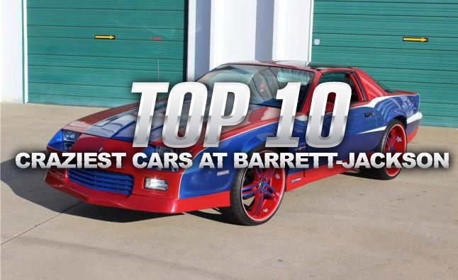 Top 10 Craziest Vehicles at the 2014 Barrett-Jackson Scottsdale Auction