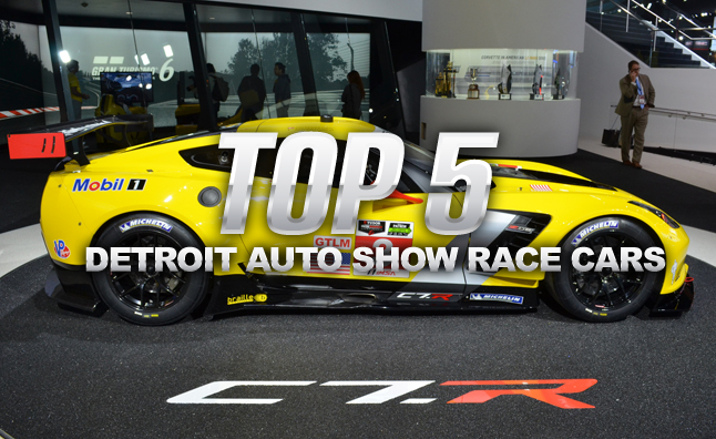 Top 5 Race Cars of the 2014 Detroit Auto Show