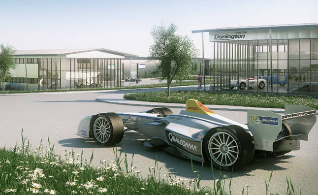 Formula E Building new HQ in UK at Donnington Park