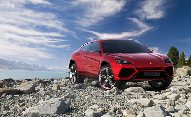 Lamborghini Urus SUV Production to Begin in 2017