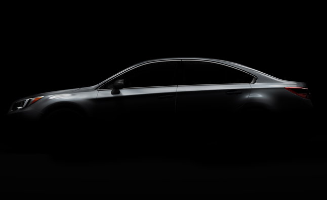 2015 Subaru Legacy Teased Ahead of Chicago Auto Show Debut