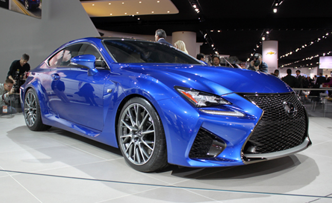 2015 Lexus RC F Coupe Video, First Look