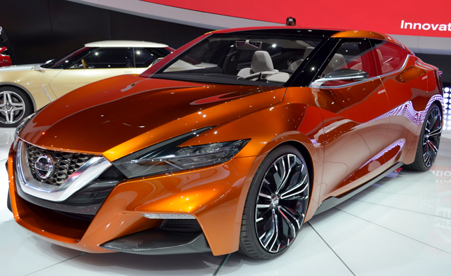 Nissan Sport Sedan Concept Screams at Maxima Volume