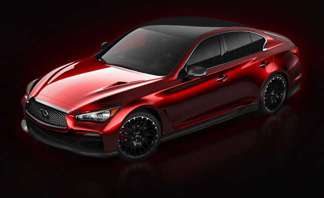 Infiniti Q50 Eau Rouge Made Mostly of Carbon Fiber