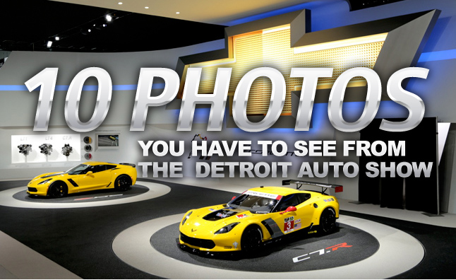 10 Photos You Have to See from the Detroit Auto Show