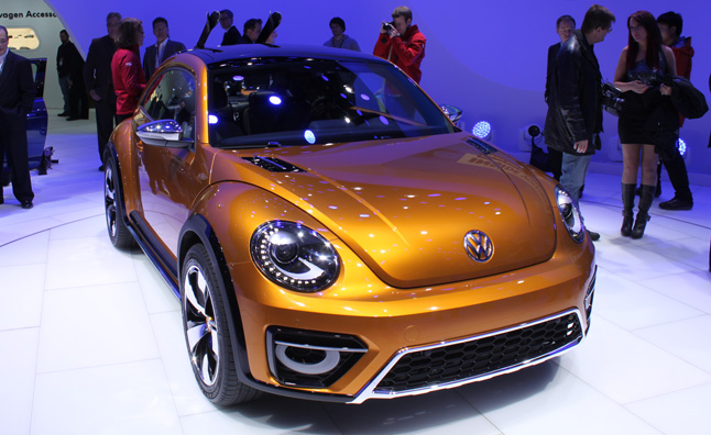 VW Beetle Dune Concept Pays Homage to the Baja Bug