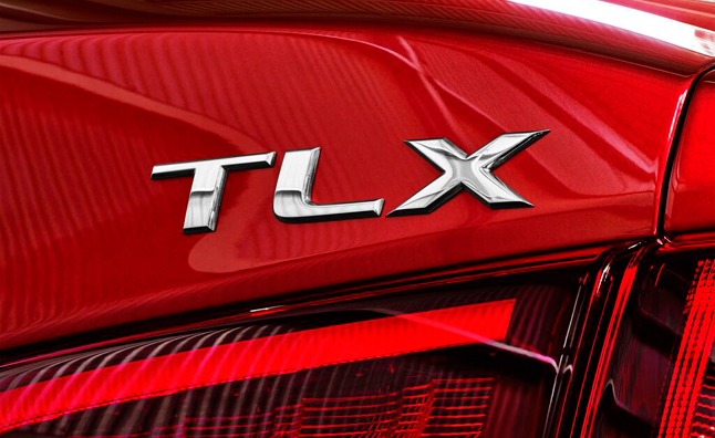Acura TLX Teased Ahead of Detroit Auto Show Debut