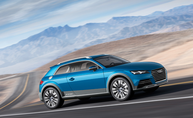 Audi Allroad Shooting Brake Concept Officially Revealed