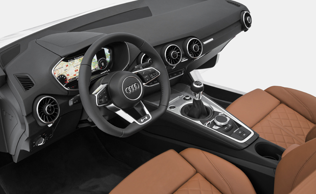 2015 Audi TT Interior Debuts at 2014 CES