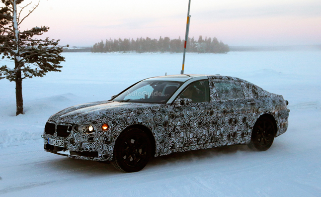 2016 BMW 7 Series Spied Testing in the Snow