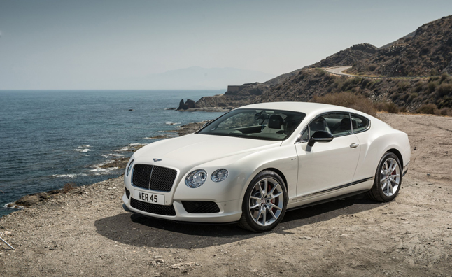 Bentley Continental GT V8 S Heads to Detroit
