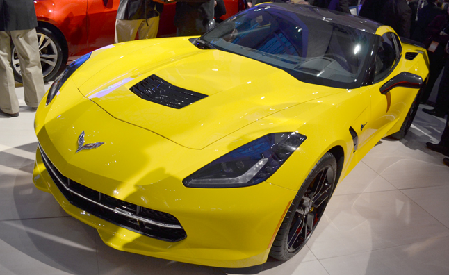 Corvette Stingray Named 2014 North American Car of the Year