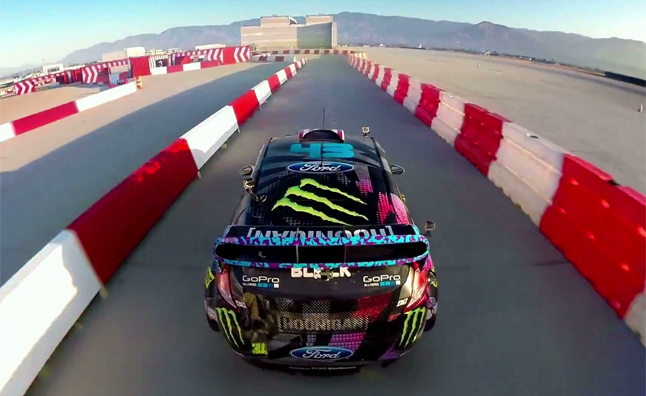 Gymkhana 6 as Seen from GoPro Cameras
